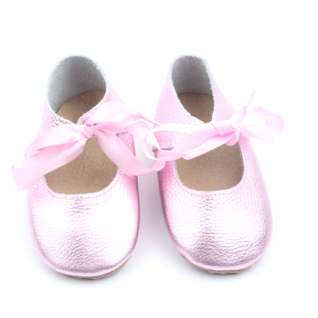 Top Selling Children Dress Shoes Soft Leather Girls