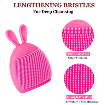 Manual Facial Cleansing Brush Pad Soft Face Cleansers