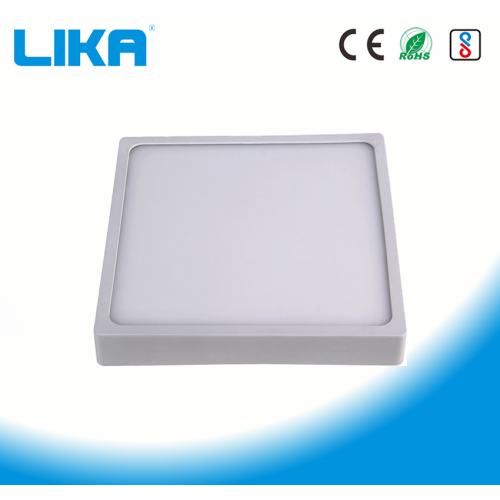 24W Integrated Rimless Square Surface Mounted Panel Light