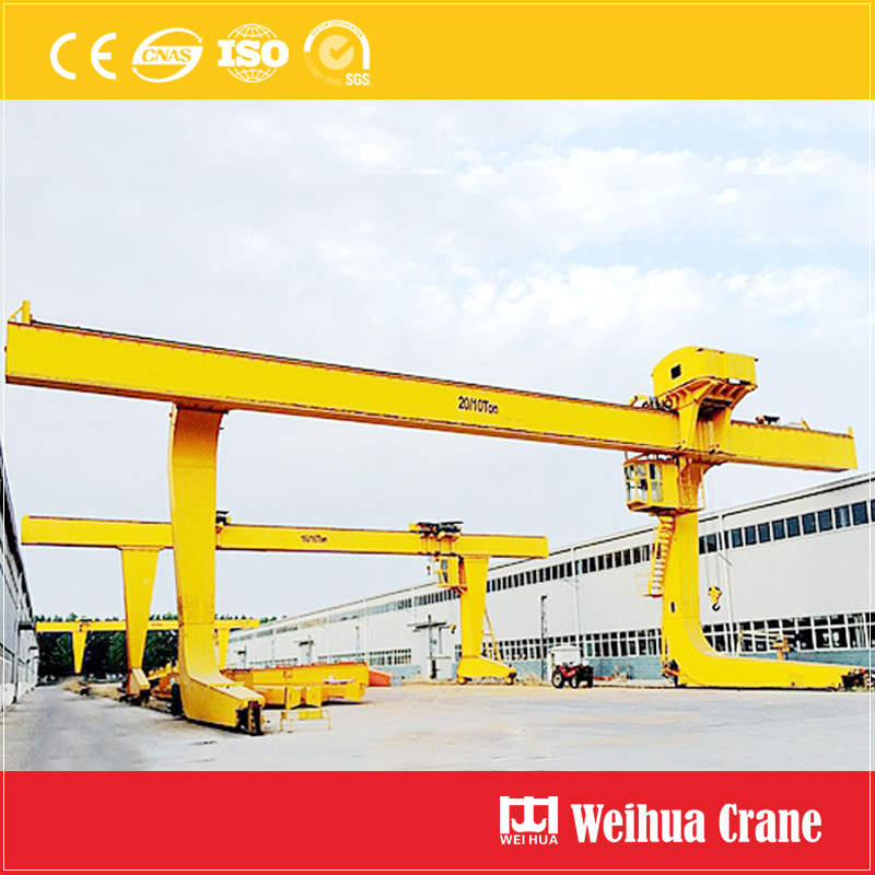 L Type Single Girder Gantry Crane 1