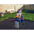 Spring Motorbike Rocker For Children' HPL Playground