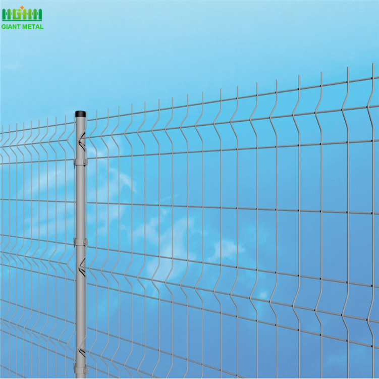 poland triangle bending welded wire mesh fence panel