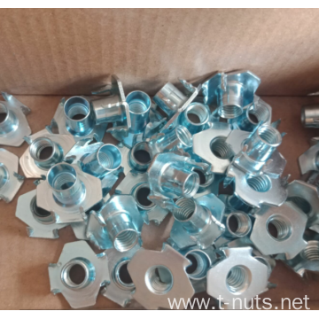 CB/NHF Furniture 4Prongs Tee Nuts
