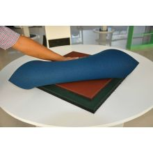 Anti-slip rubber workout flooring mat