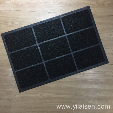 Hot selling PVC foam backing custom design mat