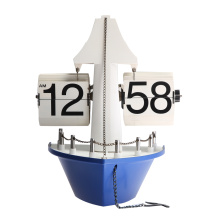 Cartoon Steamer-shape Flip Clock