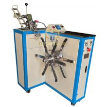 Long chain zipper winding machine