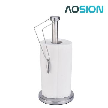 Stainless Steel Paper Towel Holder with Base