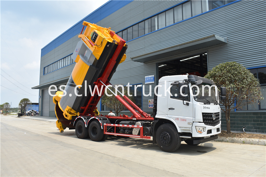 detachable compactor truck factory