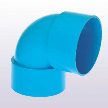 UPVC JIS K-6739 Drainage Elbow 90° Blue Color