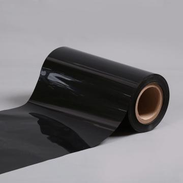 Matte surface PET black film for insulation
