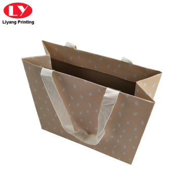 Paper Packaging Bags Clothing with Handles