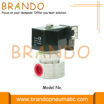 High Pressure Stainless Steel Solenoid Valve 150 Bar