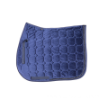 High Quality Quilted Velour Saddle Pad with Cord