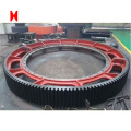 Big forging Ring gear for heavy machine industry