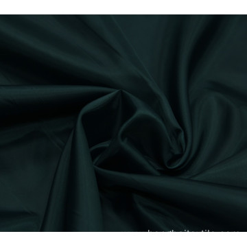 Green 100% polyester 210T polyester taffeta