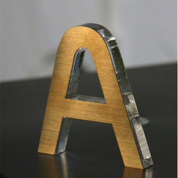 Acrylic Letter Signs Clear Colors
