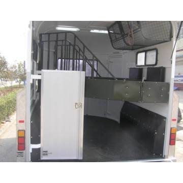 Two Horse Angle Load Horse Trailer Standard Model