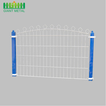 Protection Metal Double Horizontal Wire Prestige Fence