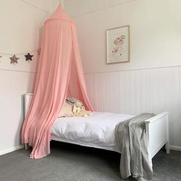 Nursery Cotton Mosquito Nets Dreamy Dome Canopy