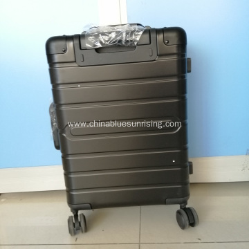 Hard Shell Carry on Boarding Trolley Aluminium Luggage