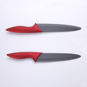 8 Inches ABS+TPR Handle White Ceramic Knife