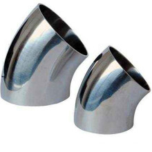 45 Degree LR Stainless Steel Seamless Elbow