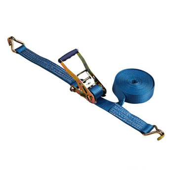 Wave handle Ratchet tie down Polyester Cargo Lashing