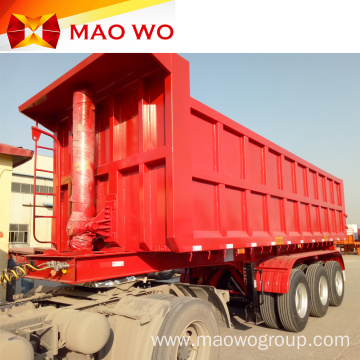 Well-known 40 Ton Rear Semi Tipper trailer