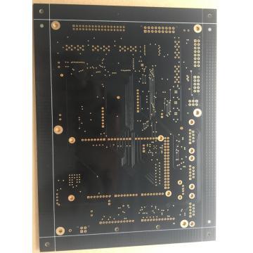 ENIG PCB with  4 layer black solder