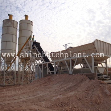 Small Mobile Concrete Batch Plant