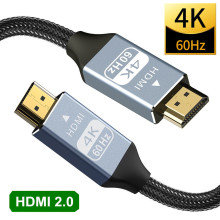 4K HDMI Cable HDMI 4K@60Hz HDMI Splitter Switch Extend Cable Dolby for PS4 HD TV Xiaomi Mi Box DTS Audio Video Cable HDMI 2.0