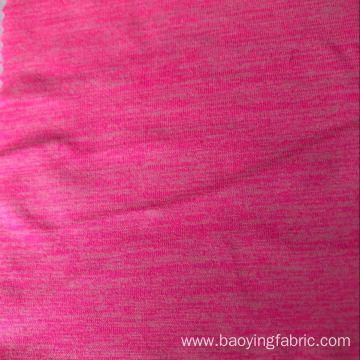 Cationic jersey Fluorescent Pink fabric