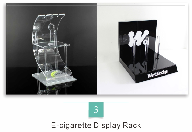 Acrylic Eyewear Window Display Rack