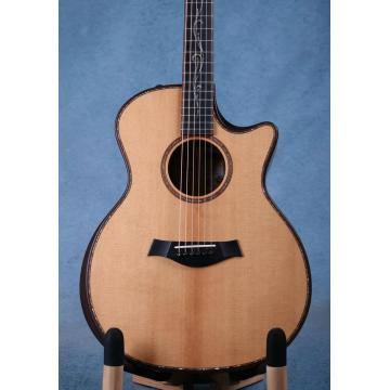 free shipping customize K11 solid spruce armrest acoustic electric guitar 45mm nut width with eq installed