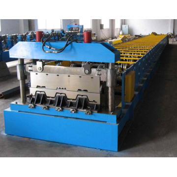 Steel Decking Forming Machine For Concrete Floors