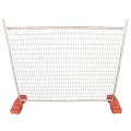 Square Tube Galvanized Construction Temporary Fence