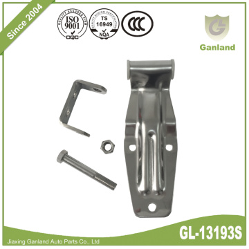 Stainless Steel Polished Rear Truck Door Hinge