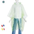 Wholesale adult Disposable  rain poncho for women