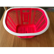 Plastic Woven Hangging Bicycle Basket