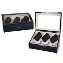 Watch Winder+Cream Velvet Inner