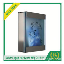 SMB-071SS Professional Manufacturer Of Wall Mount Outdoor Novelty Stainless Steel Letter Box