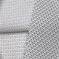 Cotton Polyester Poplin With Small Diamond Lattice