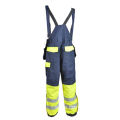 Cotton/Nylon safety overall with reflective tape