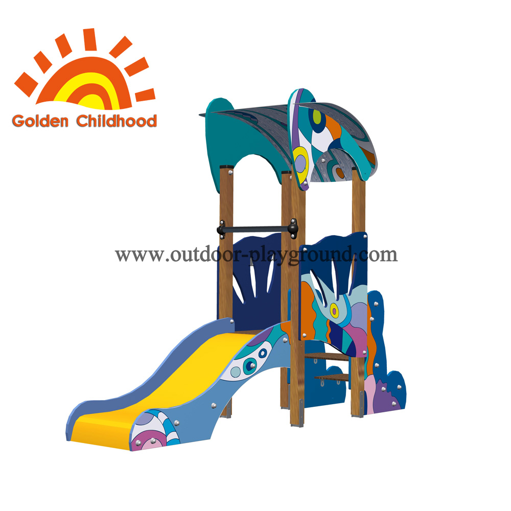 Free Standing Colourful Outdoor Playground Equipment For Children