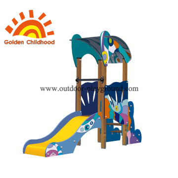 Free Standing Colourful Outdoor Playground Equipment