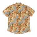 Men's Cotton Shirts Hawaii Beach