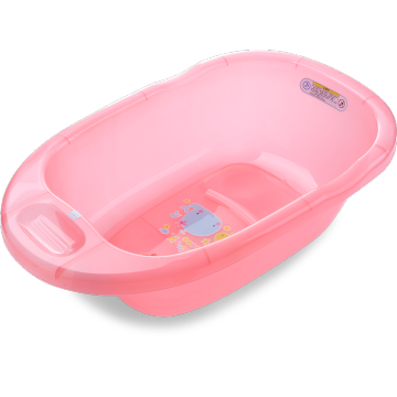 Medium Size Transparent Baby Soaking Bathtub