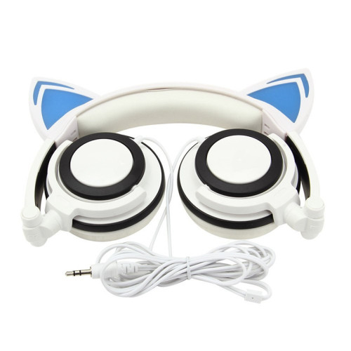 professional factory wired cat ear headphone best quality