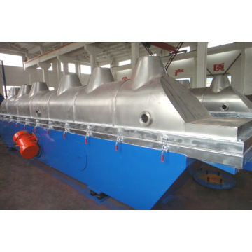 Continuous Horizontal Vibrating Fluid Bed Drying Machine for Drying Salt